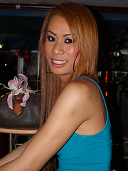 Candids of playful Ladyboy whores on Walking Street in Pattaya