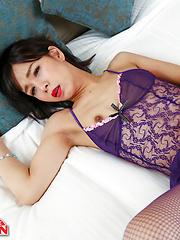 Mayumi in Purple
