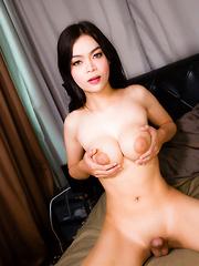 Lusting for Ladyboy Lin's Load