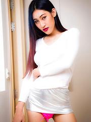 Sexy Slim Yuki Has A Hardon!