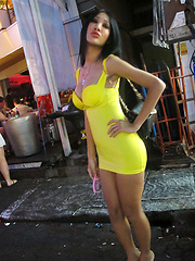Sexy asian trannies from Pattaya streets