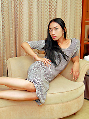 Watch this ladyboy next door stroking cock