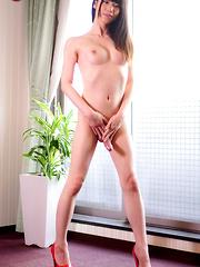 Japanese newhalf Rina homecoming